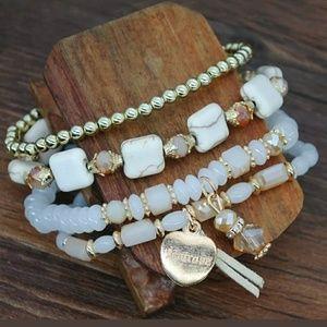 Boho Natural Stone Bracelet